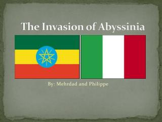 The Invasion of Abyssinia