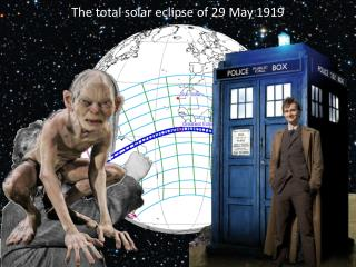 The  total solar eclipse of 29 May 1919