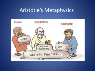 Aristotle�s Metaphysics