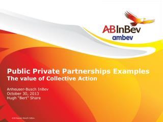 Who is Anheuser-Busch  InBev ?