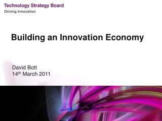 Building an Innovation Economy