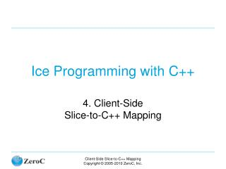 Ice Programming with C++
