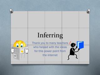 Inferring