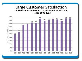 Large Customer  Satisfaction
