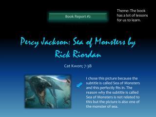 Percy Jackson: Sea of Monsters by Rick Riordan