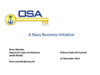 A Navy Business Initiative