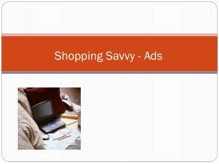 Shopping Savvy - Ads