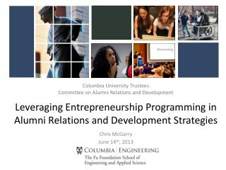 Columbia University Trustees Committee on Alumni Relations and Development