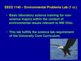 EEES 1140   Environmental Problems Lab 1 cr.