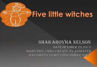 Five little witches