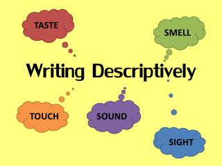 Writing Descriptively