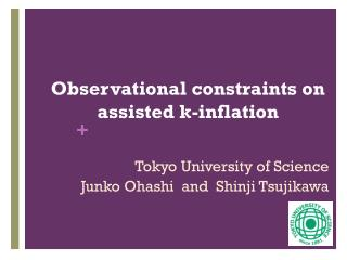 Observational constraints on assisted  k -inflation