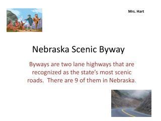 Nebraska Scenic Byway