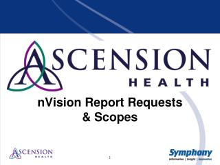 nVision  Report Requests & Scopes