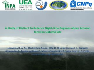 A Study of Distinct Turbulence Night-time Regimes above Amazon forest in  Uatumã  Site