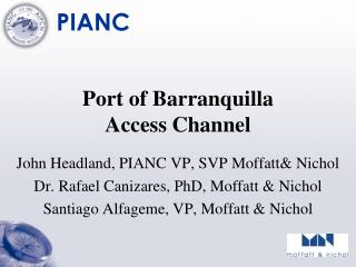 Port of Barranquilla  Access  Channel