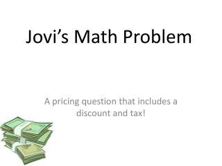 Jovi's Math Problem