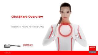 ClickShare Overview