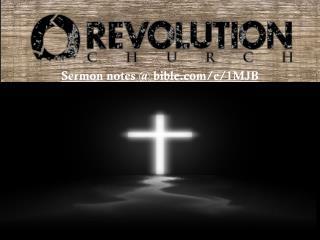 Sermon notes  @ bible/e/1MJB