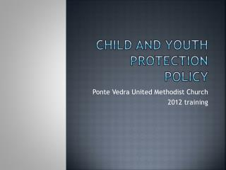 Child and Youth Protection Policy
