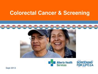 Colorectal Cancer & Screening