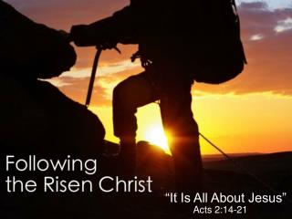 """""""Encounter With the Risen Christ"""""""