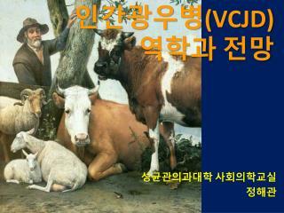 인간광우병 ( vCJD )  역학과  전망