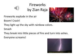 Fireworks  by  Zian  Raja