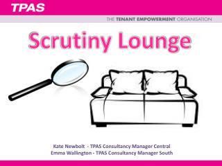 Scrutiny Lounge