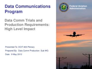 Data Communications Program