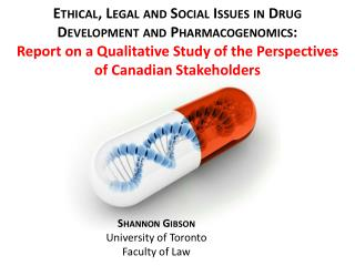 Shannon Gibson University of Toronto Faculty of Law