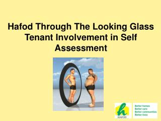 Hafod Through The Looking Glass Tenant Involvement in Self Assessment