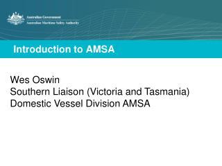 Introduction to AMSA