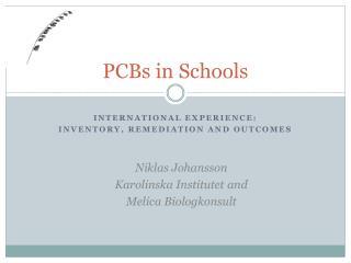 PCBs in Schools