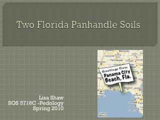 Two Florida Panhandle Soils