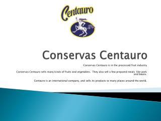 Conservas Centauro