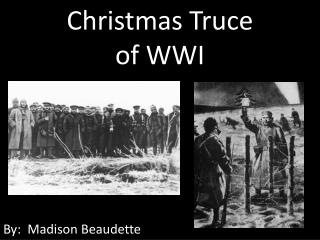 Christmas  Truce  of  WWI