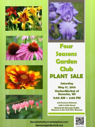 Four  Seasons Garden  Club PLANT  SALE
