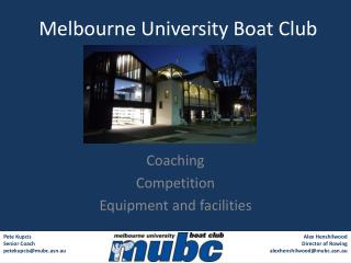 Melbourne University Boat Club