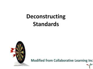 Deconstructing  Standards