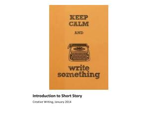 Introduction to Short Story