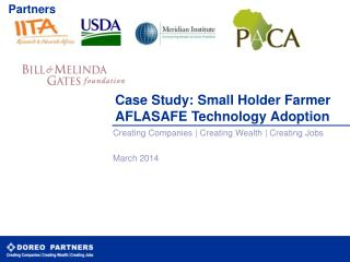 Case Study: Small Holder Farmer AFLASAFE Technology Adoption