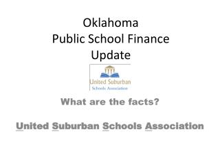 Oklahoma Public School Finance Update