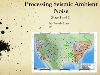 Processing Seismic Ambient Noise