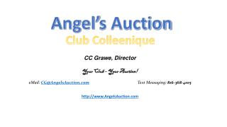 Angel's Auction