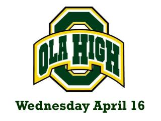 Wednesday April 16