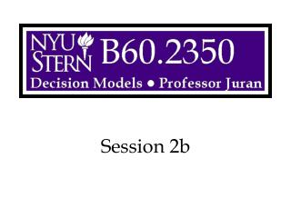 Session 2b