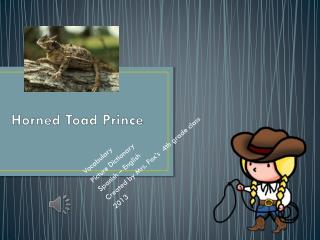 Horned Toad Prince