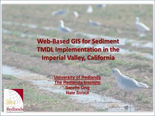 Web-Based GIS for Sediment TMDL Implementation in the Imperial Valley, California