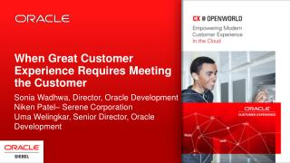 When Great Customer Experience Requires Meeting the Customer